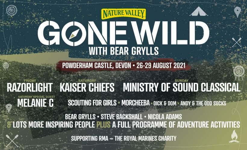 Gone Wild with Bear Grylls tickets