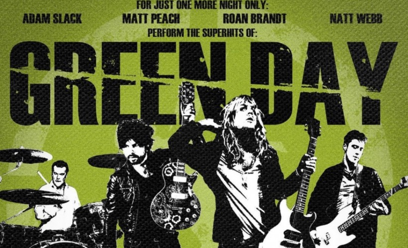 Green Day Tribute w/ Kelsy Karter & Eddie and the Wolves