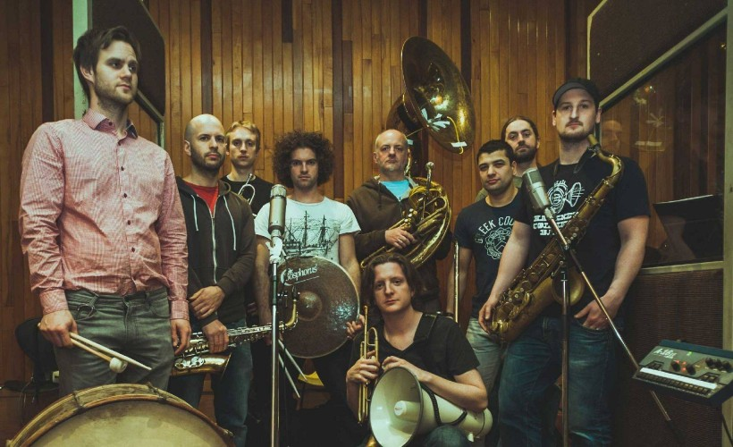 Hackney Colliery Band tickets