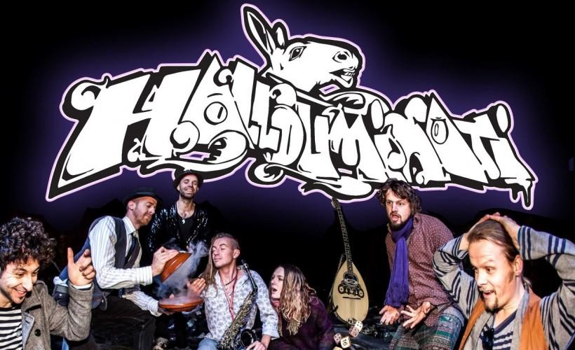 Hallouminati's album launch tickets