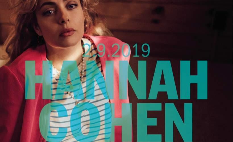Hannah Cohen tickets