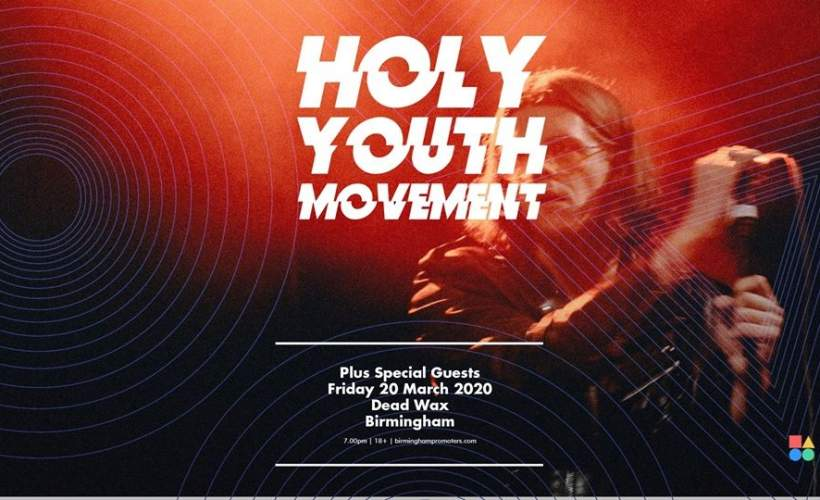 Holy Youth Movement tickets