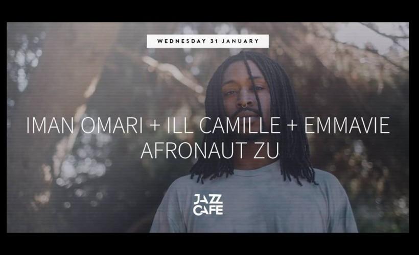 Iman Omari + Ill Camille + Emmavie + Afronaut Zu tickets