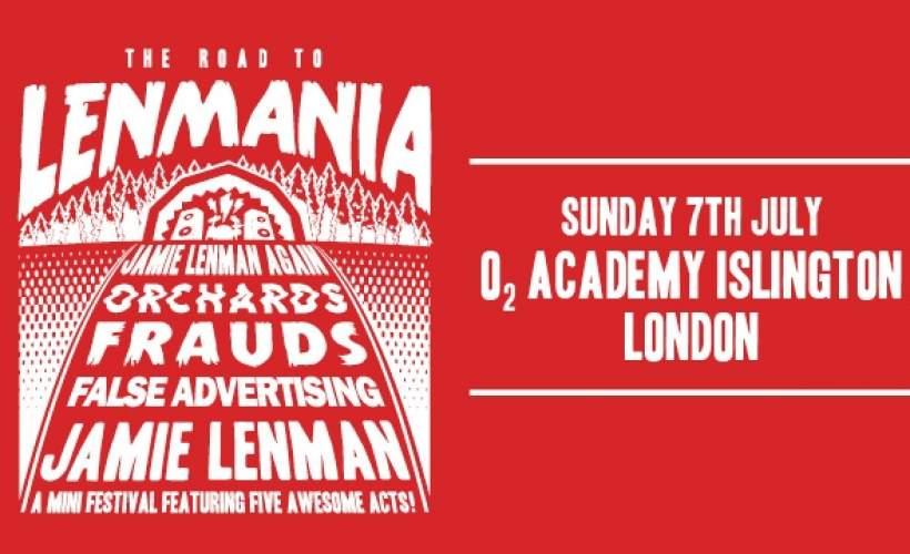 Jamie Lenman (ex Reuben) tickets