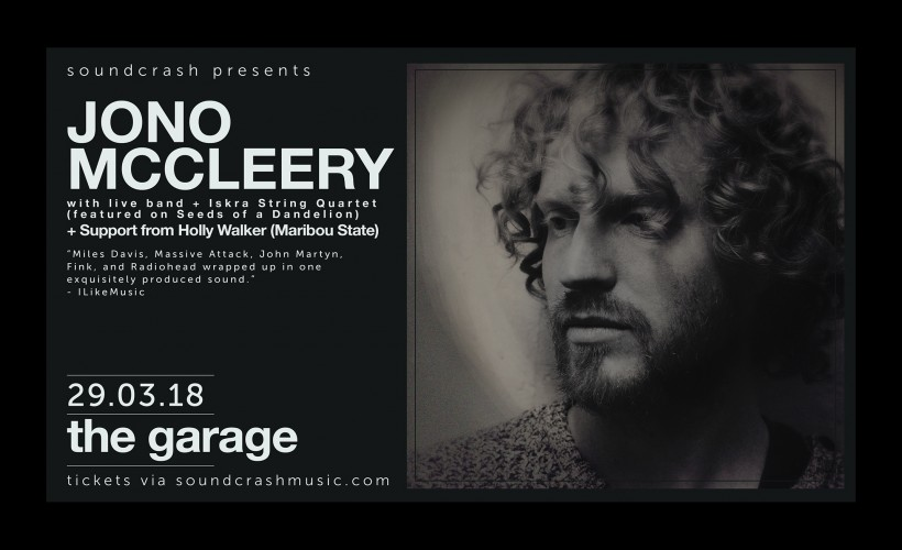 Jono McCleery tickets