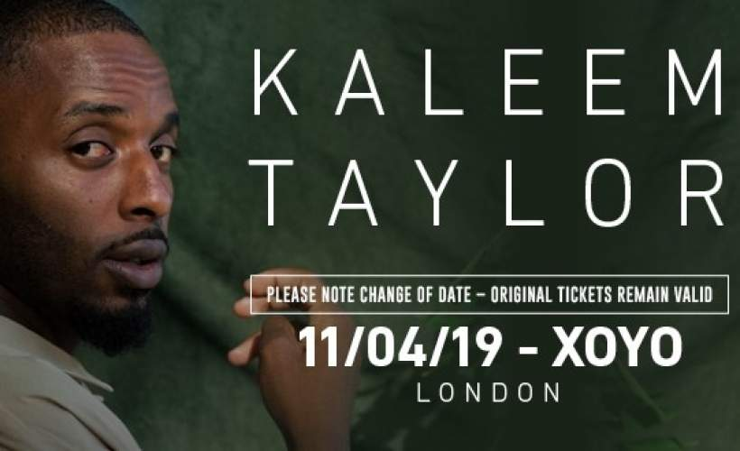 Kaleem Taylor  tickets