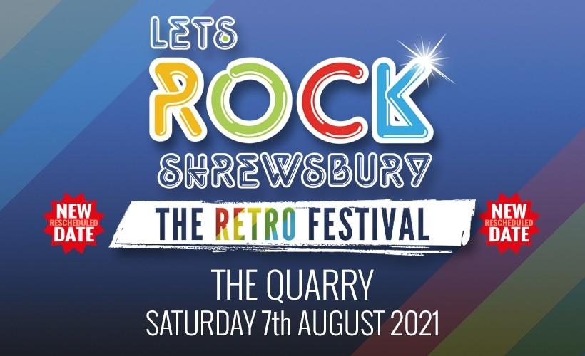 Let's Rock Shrewsbury tickets