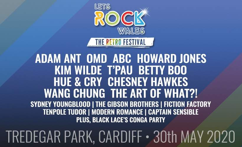 Let's Rock Wales tickets