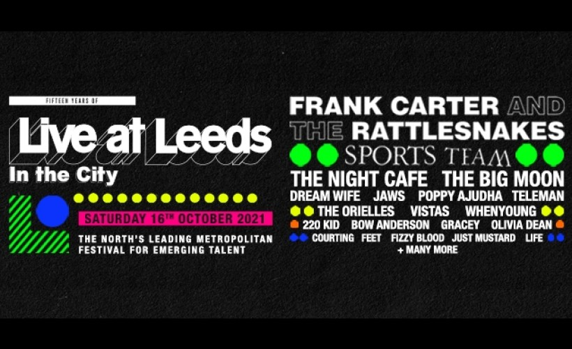 Live at Leeds 'In The City' 2021 tickets