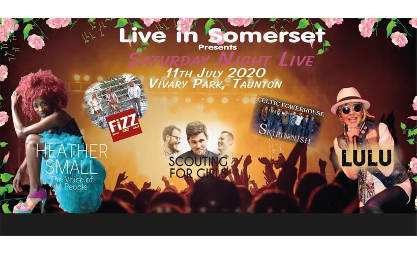 Live in Somerset 2020 tickets