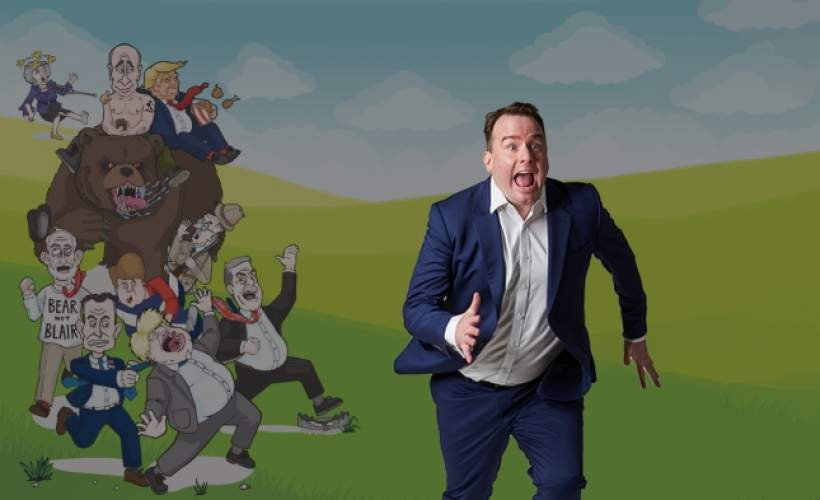 Matt Forde: Brexit, Pursued by a Bear tickets