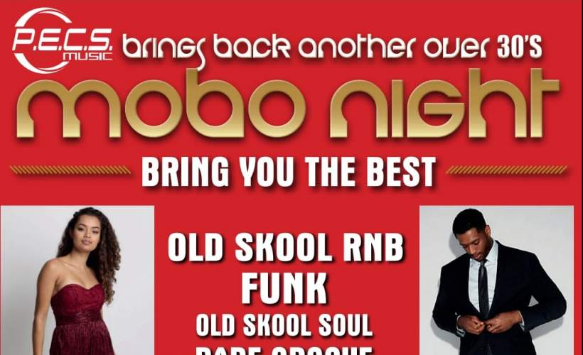 Mobo over 30s night tickets