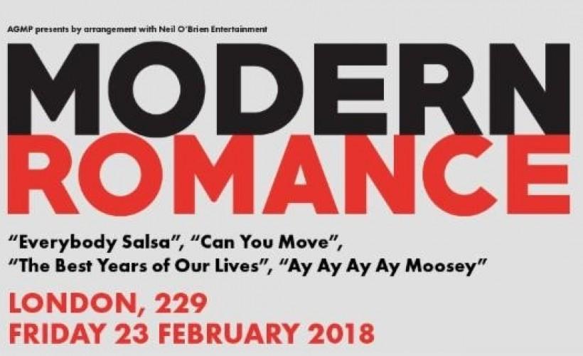 Modern Romance tickets