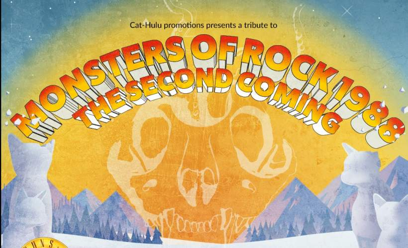 MONSTERS OF ROCK '88 THE SECOND COMING  tickets