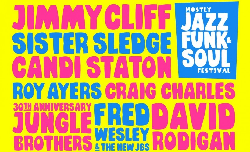 Mostly Jazz Funk And Soul Festival tickets