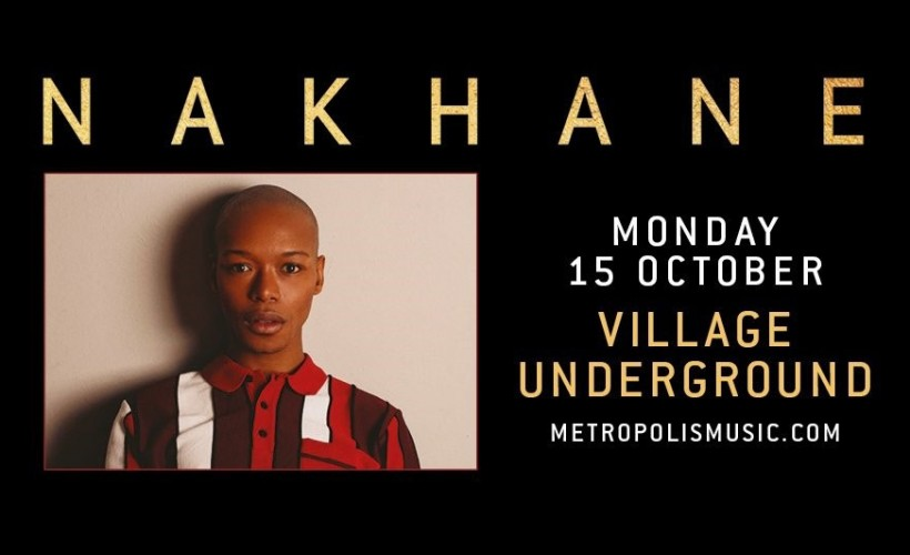 Nakhane tickets