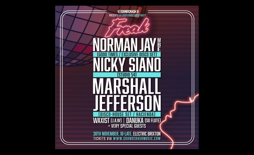 Norman Jay tickets