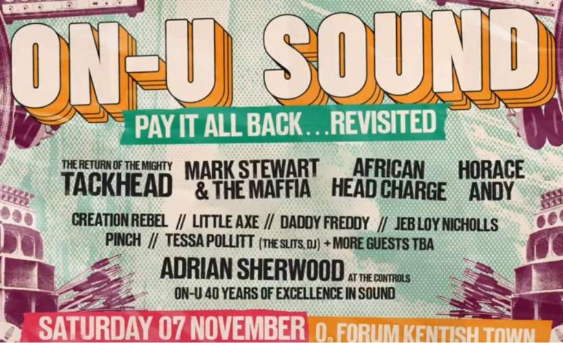 ON-U SOUND- tickets