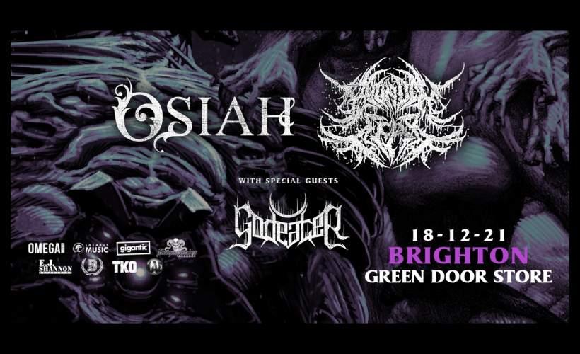 Osiah & Bound In Fear tickets