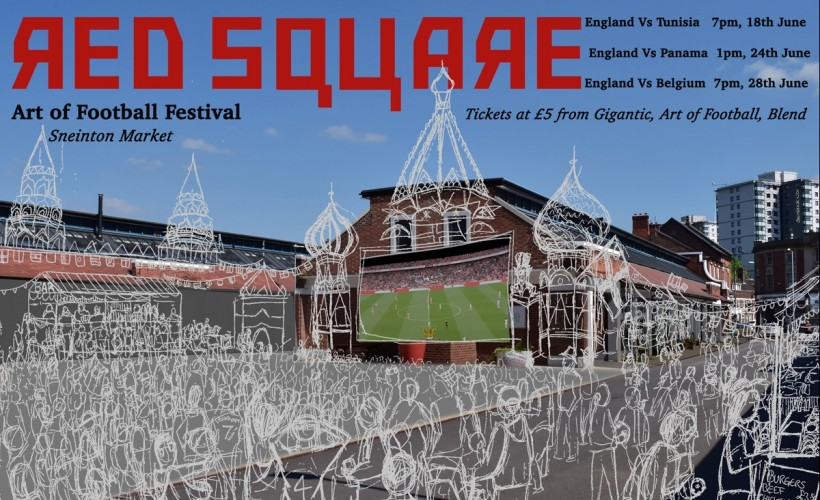 Red Square - Art of Football Festival tickets