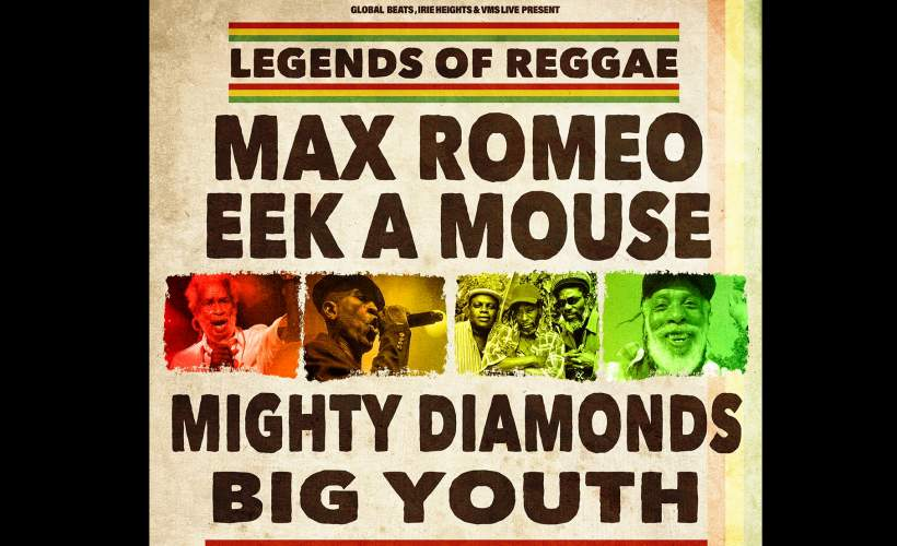 Reggae Legends tickets