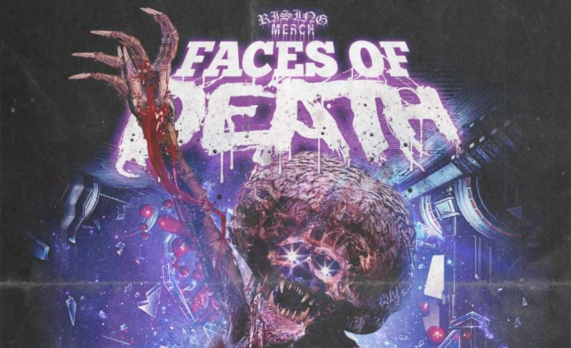 Rising Merch Faces of Death Tour 2021 tickets