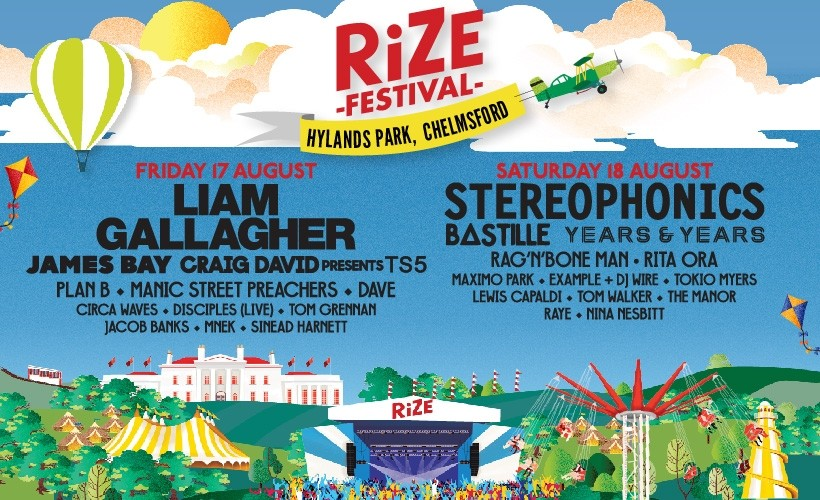 RiZE Festival tickets