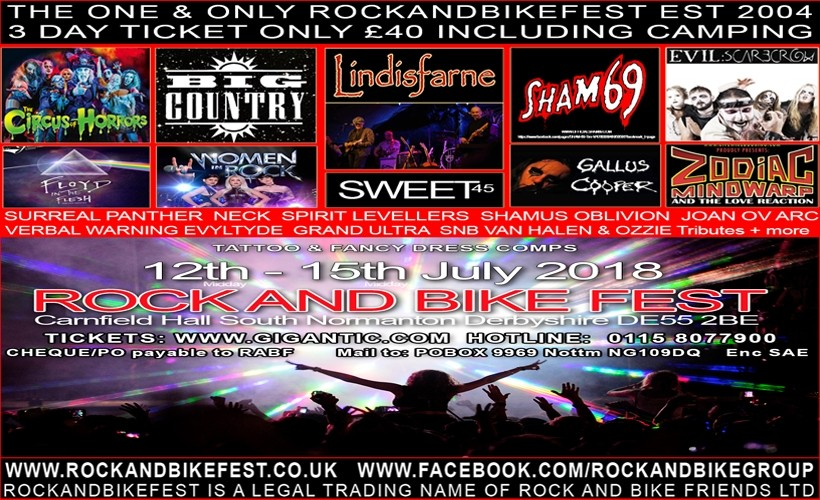 Rock and Bike Fest tickets