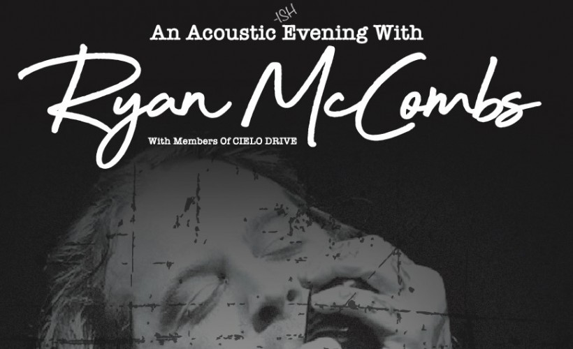 Ryan McCombs tickets