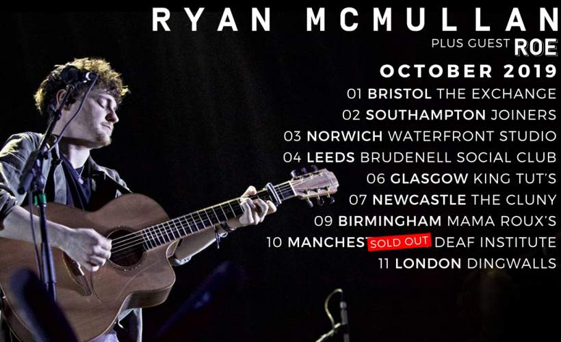 Ryan McMullan tickets