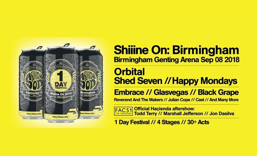 Shiiine On Festival tickets