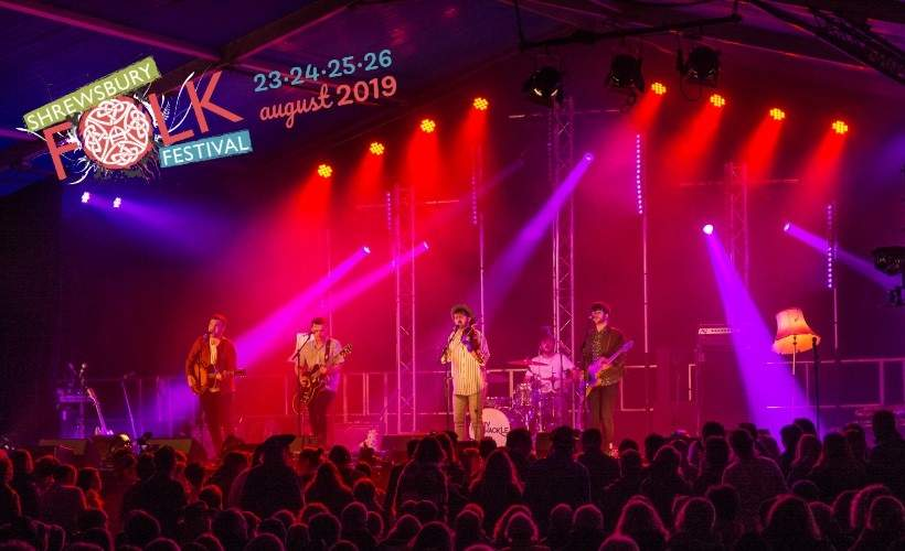 Shrewsbury Folk Festival tickets