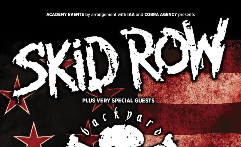 skid row tour 2020