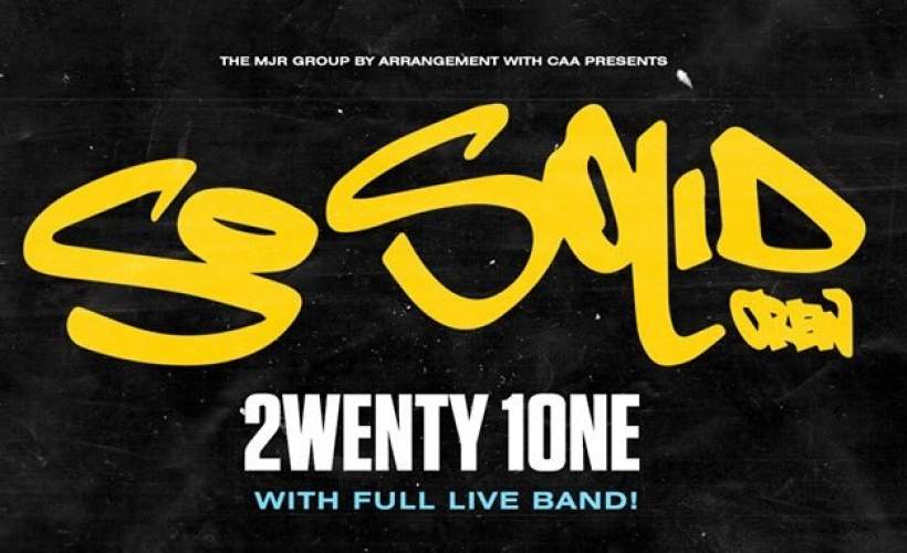 So Solid Crew tickets