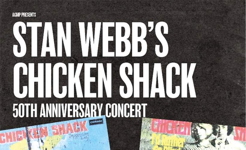 Stan Webb's Chicken Shack tickets