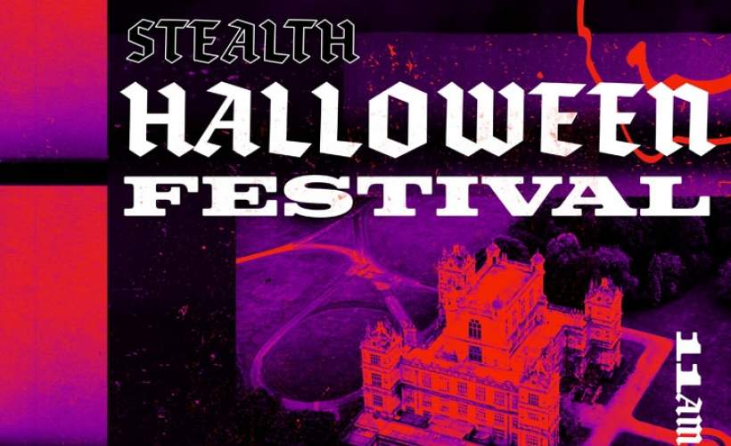 Stealth Halloween Festival with Michael Bibi, Danny Hard, Latmun and more tickets
