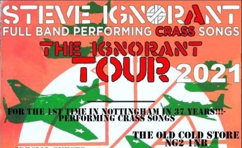 Steve Ignorant tickets