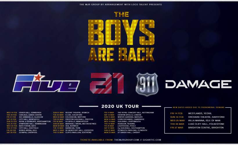 Bilderesultater for the boys are back tour