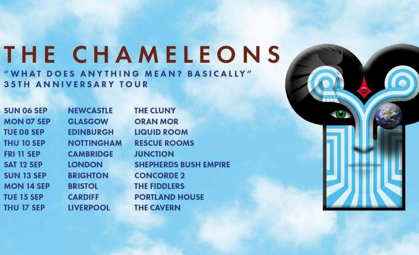 The Chameleons tickets