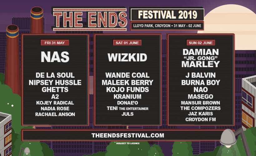 The Ends tickets