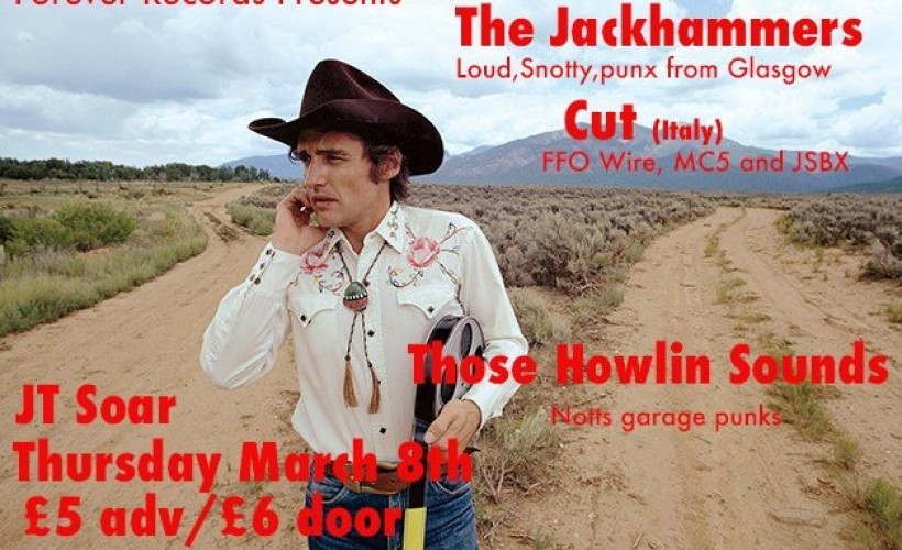 The Jackhammers  tickets