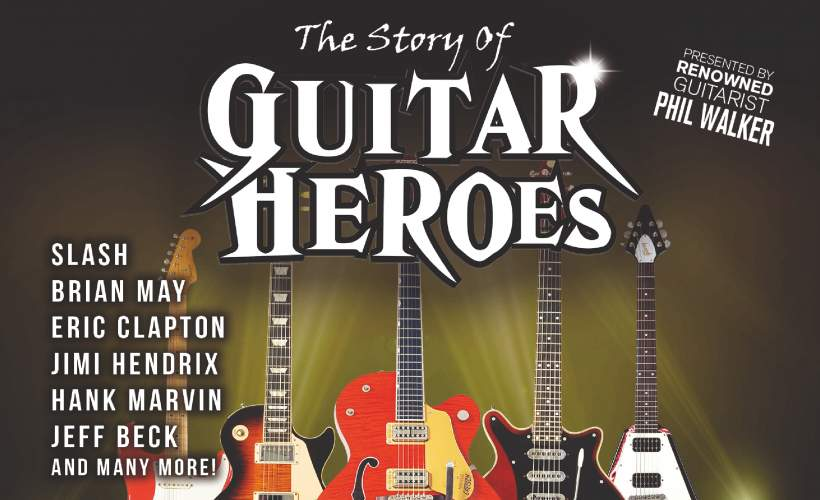 The Story of Guitar Heroes tickets