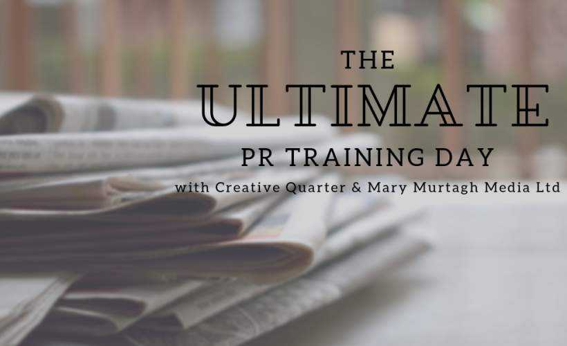 The Ultimate PR Training Day  tickets