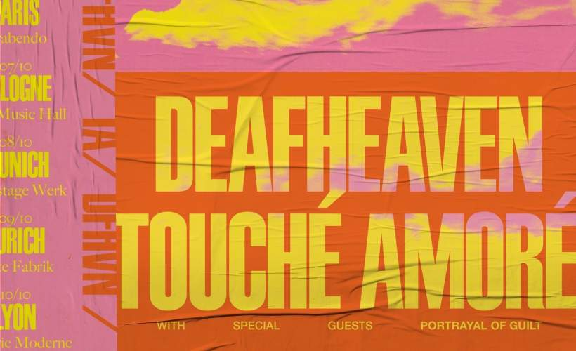 Touche Amore & Deafheaven tickets
