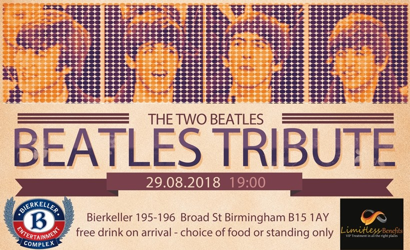 Two Beatles tickets