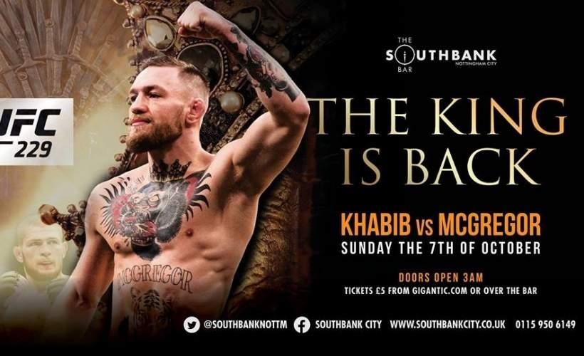 UFC: 229 Khabib vs McGregor Live on PPV tickets