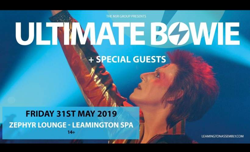 Ultimate Bowie tickets