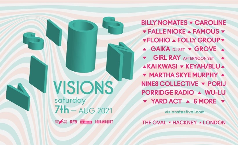 Visions Festival tickets