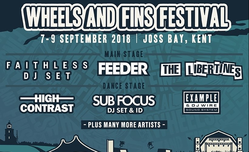 Wheels and Fins Festival tickets