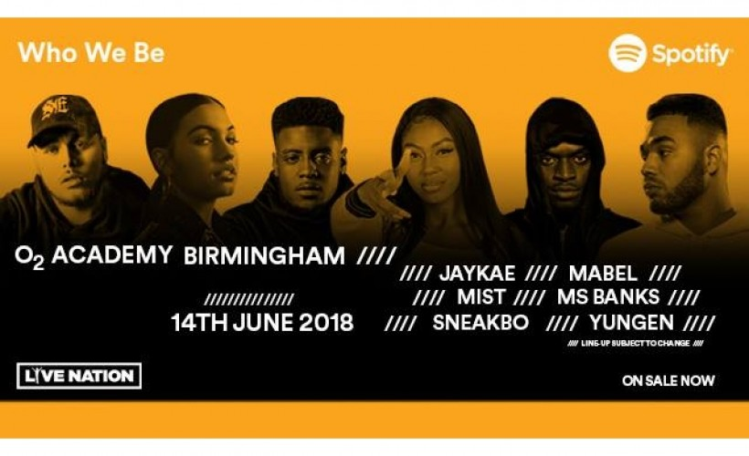 Who We Be tickets